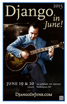 Two nights celebrating Django Reinhardt at the Academy of Music Theatre in Northampton, Massachusetts. Gypsy Jazz Guitar, Music Theater, Theatre, Django Reinhardt, Academy Of Music, All That Jazz, Louis Armstrong, Music Images, Jazz Musicians