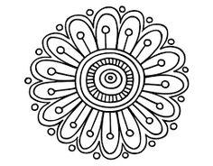 Simple mandala designs to draw dot coloring pages awesome home Mandalas Drawing, Mandala Coloring Pages, Mandala Painting, Dot Painting, Colouring Pages, Coloring Books, Mandala Design, Mandala Pattern, Zentangle Patterns