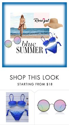 """""""Blue Summer"""" by edo123 ❤ liked on Polyvore featuring Sunday Somewhere and Old Navy"""