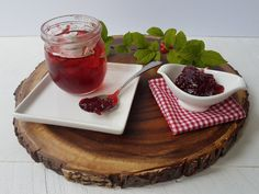 Sour cherry jelly and how to can it - Making My Own Sour Cherry Jelly Recipe, A Food, Food And Drink, Bing Cherries, Peanut Butter Sandwich, Frozen Cranberries, Food Mills, Cherry Recipes, Jam And Jelly