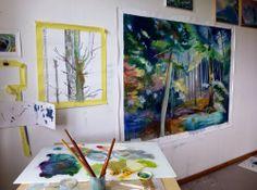 Katrin Roth: In the studio