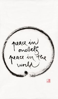 We don't find peace while putting other people down, assuming the worst of someone or misunderstandings. THOSE are people I pray for because they insist on deceiving themselves. It is they who need peace and it is my responsibility to pray for them.