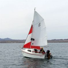 What an adorable little boat, the West Wight Potter.