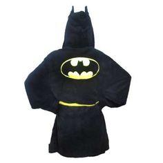 The 'Batman Hooded Bath Robe' Will Make You Feel Like the Dark Night trendhunter.com
