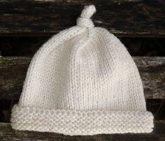 Worsted Newborn Knotty Hat, lief.