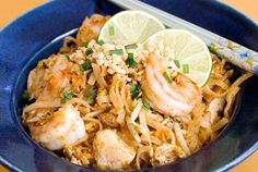 Pim's Pad Thai - uses rice noodles