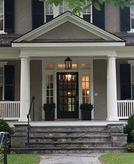 black front door with sidelight - Google Search