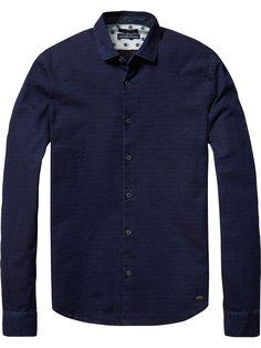 Camisa estructurada de manga larga