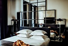 Feather Pillows, Bath Or Shower, Double Room, Paris Hotels, Parquet Flooring, Sound Proofing, Hotel Spa, Cribs, Bed