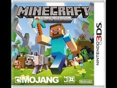 Minecraft Nintendo 3DS Edition unboxing