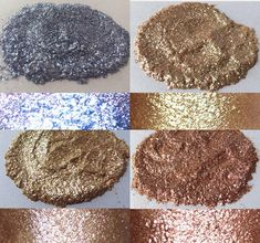 loose glitter pigment bundle of 4 loose eyeshadow vegan Glitter Pigment, Loose Glitter, Eyeshadow, Vegan, Chocolate, Unique Jewelry, Handmade Gifts, Desserts, Etsy