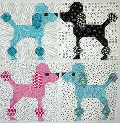We are so excited to be posting a new Free Pattern Day. Here is a purr -fectly wonderful collection of cat and dog quilts ! To go to the p...