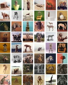 In a state of wonderment for the work of William Wegman and his Weimaraners - how's that for alliteration?! #ISpyWW