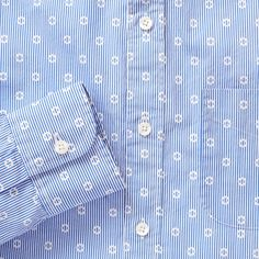 Nyasa Circle Dot, Bonobos. $95. I love the current trend of Japanese print patterns on men's shirts.