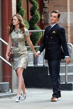 gossipgirlstyle       #Blair Waldorf #Chuck Bass    xGossipGirlxx: Blair Waldorf and Chuck Bass