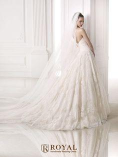 板橋蘿亞手工婚紗 Royal handmade wedding dress 婚紗攝影 購買婚紗 單租婚紗 西班牙 Pronovias MELISSA