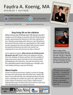 Speaker Bio | One Sheet Template | Keynote Templates | One Pager ...