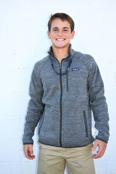 Patagonia Better Sweater Jacket- Nickel/Forge Grey from Shop Southern Roots TX