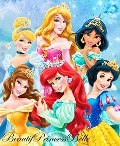 Disney Princesses - Gracious and Kind by BeautifPrincessBelle.deviantart.com on @deviantART