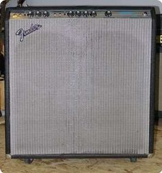 1978 Fender Bassman 10. My first amp was one of these. Got it when I was 17, for $150! This isn't mine, but it's even the same year. Mine is no more. It was a great amp, but used to fall over on its face b/c the casters were not up to the job. Sounded nice & punchy, big & warm. Broke up a little too high on the volume knob to ever get tube distortion at home, but when you COULD open it up, WOW. It sang.