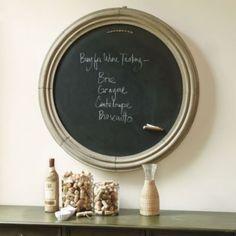 Round Magnetic Chalkboard   Furniture   Ballard Designs