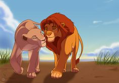 This picture represents plot. It was a major part of the story when Simba defeated Scar and  became the new King.