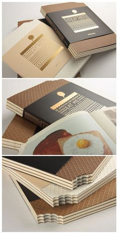 idea for a food packaging book! Designed by viction:ary