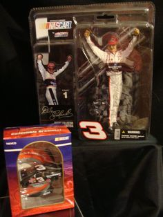 Items similar to Mc Farlane's Dale Earnhardt Figurine- Limited Edition on Etsy