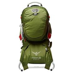 Osprey Poco AG Premium Child Carrier Green One Size  sc 1 st  Pinterest : bulk tent canvas - memphite.com