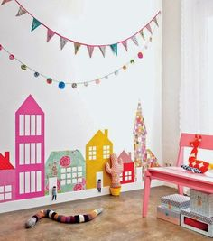 Kids Room Decorating Idea