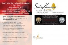 #holiday mailer for Sartor Hamann Jewelry. See more at www.transformationmarketing.com!