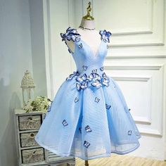 #1934 3D butterfly Dress (SALE) Yay or Nay? 💋 Order from 👉🏻dressesloves.com