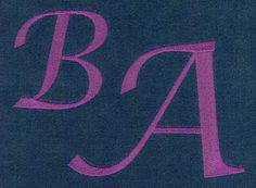 637 Lucida Calligraphy JUMBO SatinFill Font - Jolson's Designs