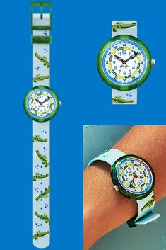 Alligators, Telling Time, Plastic Case, Rolex Watches, Swatch, Best Gifts, Swimming, Smile, Printed