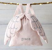 Washed Velvet Angel Wings Backpack - so sweet. Perfect gift for girls
