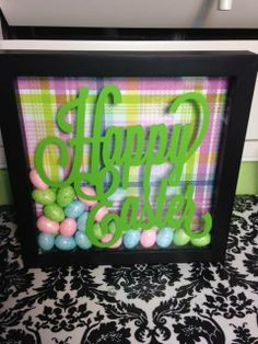 Easter Shadow Box
