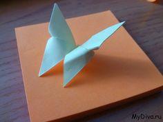 Cómo hacer una mariposa en origami