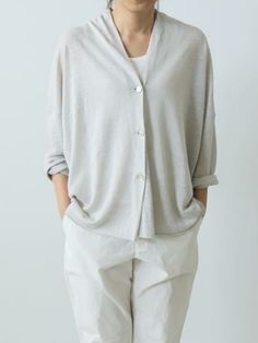 french linen cardigan - I NEED THIS OUTFIT!! LOVE IT!! all i need is the martha cut ;)