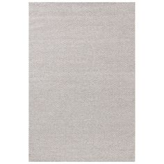 Dash & Albert Honeycomb Ivory & Grey Wool Woven Rug
