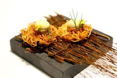 Gaggan – Asia's Best Restaurant Serves Progressive Indian Cuisine In Bangkok Chefs, Food Presentation, Food Plating, Food Design, Fine Dining, Food Styling, Indian Food Recipes, Food Art, Bangkok