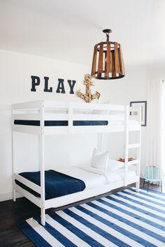Nautical boys bedroom