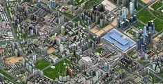 Shenzhen look like a sim's city with Sougou maps
