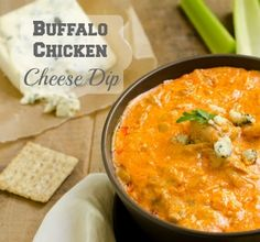 Let's Tailgate With Buffalo Chicken Cheese Dip #emeals @Liz Mester Meals