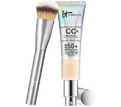 IT Cosmetics Full Coverage Physical SPF 50 CC Cream with Plush Brush, 39.56