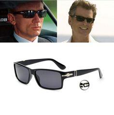 Mecol Men Polarized Driving Sunglasses Mission Impossible 4 Tom Cruise James Bond Style Sun Glasses Women Oculos Masculino M061