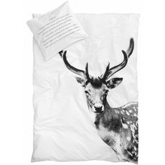 By Nord deer quilt cover (king size) - norsu interiors