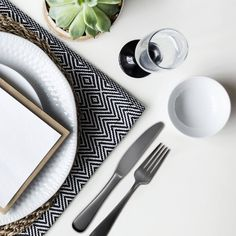 For once, we don't mind being in the dark! The Opera 20 Piece Place Setting by Skandia™️ pairs perfectly with almost anything and everything. And better yet, makes a great addition to moody, floral-inspired table settings - October's trend that has blossomed all over runways and in home decor! Go for an all around blackout with ultra dramatic and romantic wall to wall smokey hues or use Opera to ground an otherwise airy tablescape. You really can't go wrong, Opera is now available atMacy's!