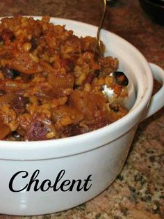 Family Heirloom Chulent - the best most famous recipe for classic cholent