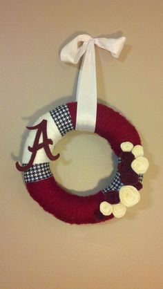 Can't stopp pinning wreaths ... roll tide