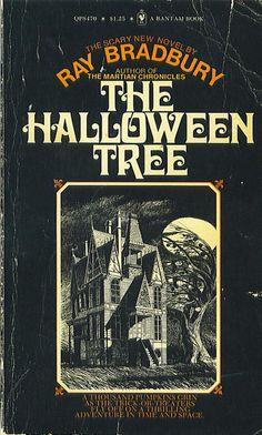 Ray Bradbury's The Halloween Tree. Such a beautiful little Halloween story.